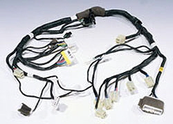 Wire Harness Black Cable wiring harnesses, lead wire harness manufacturing wiring harness manufacturers at fashall.co